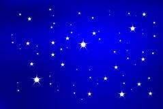 Stern-Leuchte Lizenzfreies Stockfoto