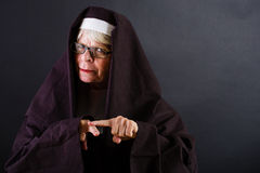 Stern nun Royalty Free Stock Photography