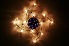 Stern oder Leuchter? Lizenzfreies Stockfoto