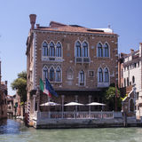 Stern palace in Venice Stock Images