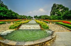 Stern-Park und Karst Yangshuo Guilins China sieben. lizenzfreies stockfoto