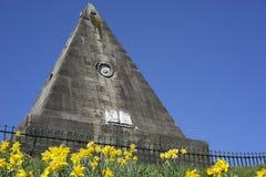 Stern-Pyramide - Märtyrer-Monument Stockbilder