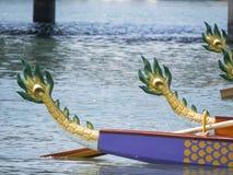 Stern smok łódź obrazy royalty free
