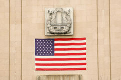 Stern Spangled Fahne Stockfotografie