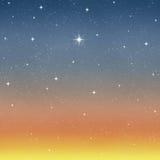 Stern sternenklaren nächtlichen Himmel wünschen