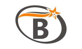 Stern Swoosh-Buchstabe B Stockfoto