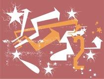 Stern und arrrow Stockfotos