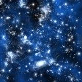 Stern und Platz Orion stock abbildung