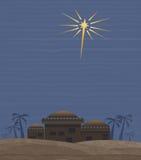 Stern von Bethlehem Lizenzfreies Stockbild