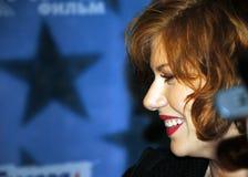 Stern von Fernsehserie Masha + Sasha Schauspielerin EL Lizenzfreies Stockfoto