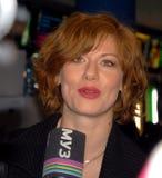 Stern von Fernsehserie Masha + Sasha Schauspielerin EL Stockbilder