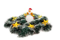 Stern Weihnachtsmann Lizenzfreie Stockfotos