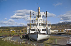 Stern-wheeler SS Klondike, Whitehorse Stock Photo