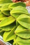 Sternapfel-Fruchthintergrundbeschaffenheit Lizenzfreies Stockbild