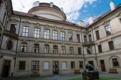 Sternberg slott i Prague Fotografering för Bildbyråer
