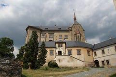 Sternberk城堡,捷克共和国 免版税库存图片