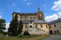 Sternberk城堡,捷克共和国 库存图片