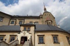 Sternberk城堡,捷克共和国 图库摄影