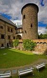 sternberk замока стоковое изображение rf