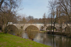 Sternbrueke bridge, Weimar Royalty Free Stock Image