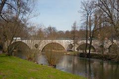 Sternbruekebrug, Weimar Royalty-vrije Stock Afbeelding