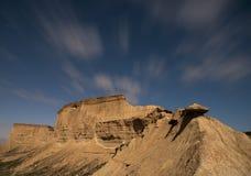 Sterne über der Wüste Lizenzfreie Stockfotos