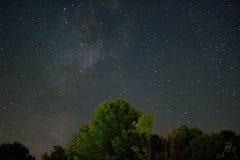 Sterne über Falken Ridge Lizenzfreie Stockbilder