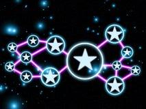 Sterne 01 Lizenzfreie Stockfotografie
