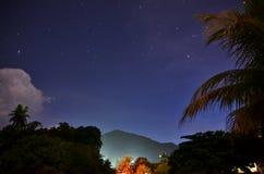 Sterne auf dem Himmel Lizenzfreies Stockfoto