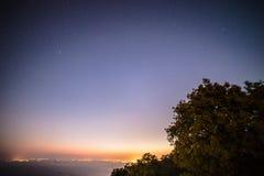 Sterne auf der Bucht von Triest Stockfotos