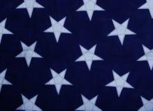 Sterne auf einem blauen Hintergrund Stockfoto