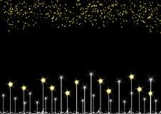 Sterne auf Hintergrund Lizenzfreie Stockbilder