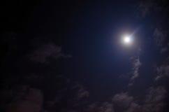 Sterne del und del mond de Strahlender Imagenes de archivo