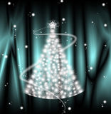 Sterne der frohen Weihnachten Stockbilder