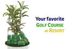Sterne der Reise 5 der ersten Klasse - Golfplatz Stockbild