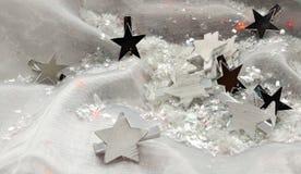 Sterne für magisches Weihnachten stockfoto