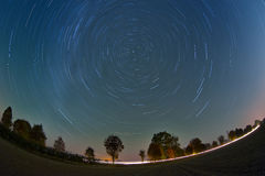 Sterne im Himmel Lizenzfreie Stockfotografie