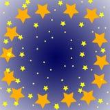 Sterne im Himmel vektor abbildung