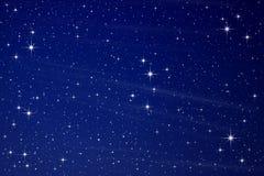 Sterne im nächtlichen Himmel Lizenzfreie Stockbilder