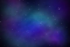 Sterne im Platz Stockfotos