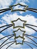 Sterne im Tageslicht Lizenzfreies Stockfoto