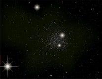 Sterne im Universum Lizenzfreies Stockbild