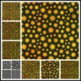 Sterne. Nahtloses Muster. Stock Abbildung