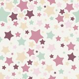 Sterne, nahtloses Muster Lizenzfreie Stockfotografie