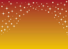 Sterne und Leuchten lizenzfreie abbildung