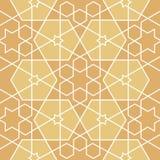 Sterne und Polygone geometrisches Muster Stockfotografie