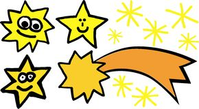 Sterne vector Set Stockbilder