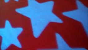 Sterne verwischt stock footage