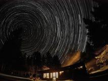 Sterne vorbei cabben lizenzfreie stockfotos