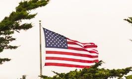 Sternenbanner - USA-Flagge Stockfotografie